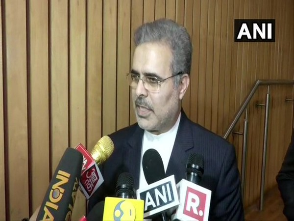 Iran's ambassador to India Dr Ali Chegeni