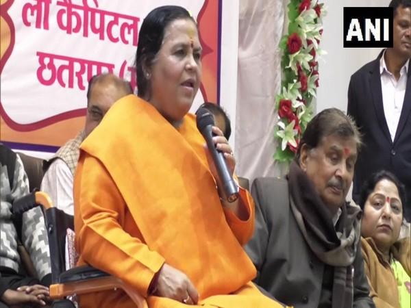 BJP leader Uma Bharti.