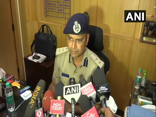 Bengaluru Deputy Commissioner of Police (DCP), Chetan Singh Rathore speaking to media persons on Wednesday (Photo/ANI)