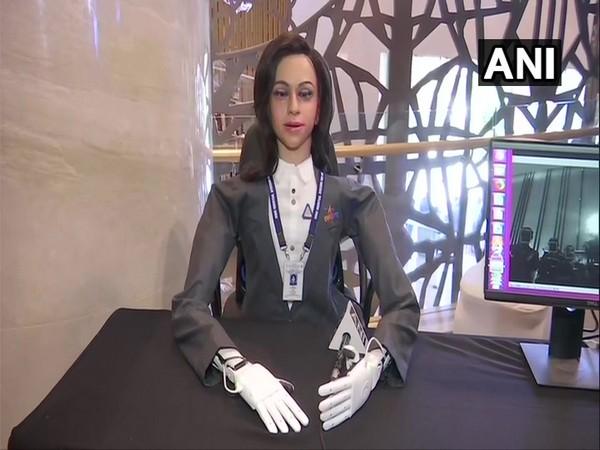 ISRO's half humanoid Vyommitra.