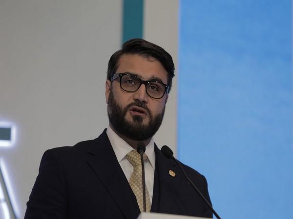 Afghanistan NSA Hamdullah Mohib speaking at Raisina Dialogue 2020 (Twitter ORF)