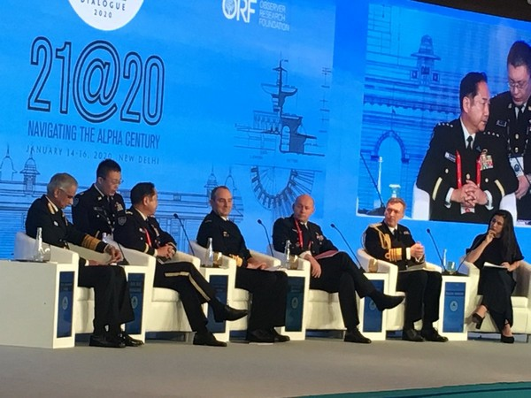 Military generals of various countries deliberate at Raisina Dialogue 2020 in New Delhi on Wednesday