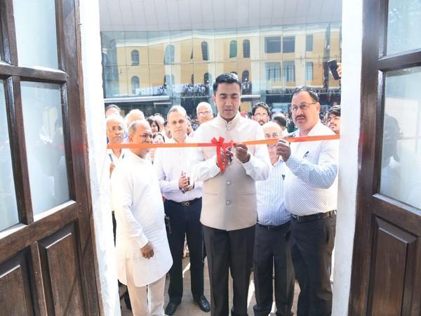 Pramod Sawant inaugurating SCI-FFI 2020 in Panaji (Image Source: Pramod Sawant's Twitter)