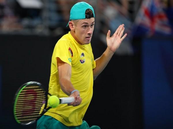 Australian Alex de Minaur