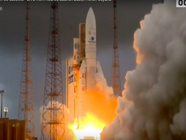 Ariane-5 flight VA251 carrying GSAT30 and EUTELSAT KONNECT successfully liftsoff