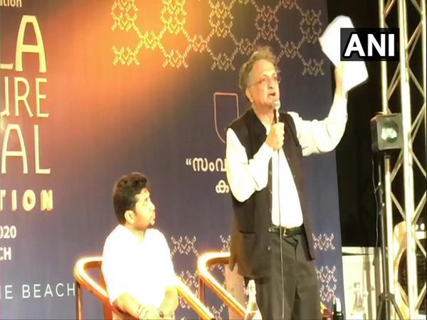 Historian Ramachandra Guha at Kerala Literature Festival in Kozhikode.