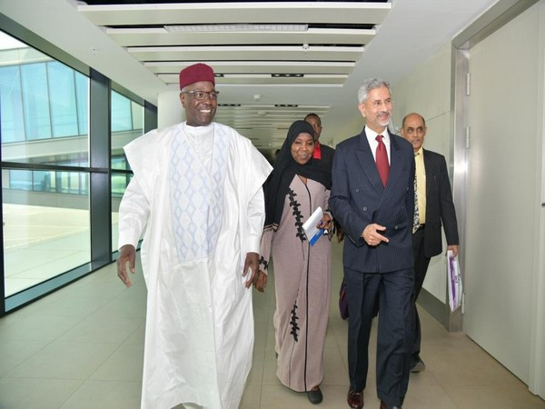 External Affairs Minister (EAM) S Jaishankar on Monday (local time) arrived in Niamey, the capital of Niger (Photo tweeted by EAM S Jaishankar)
