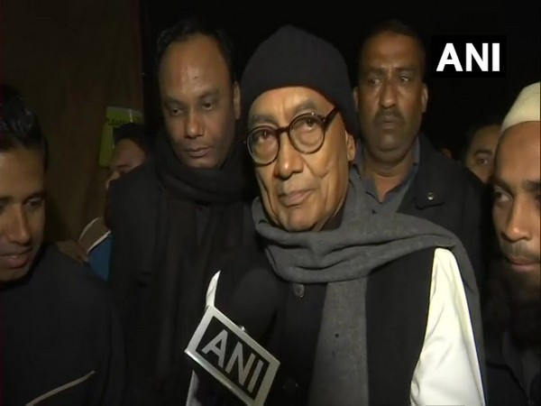 Congress leader Digvijaya Singh (File photo)
