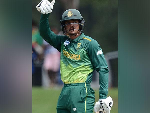 Wicket-keeper batsman Quinton de Kock (Photo/ Cricket south Africa Twitter)