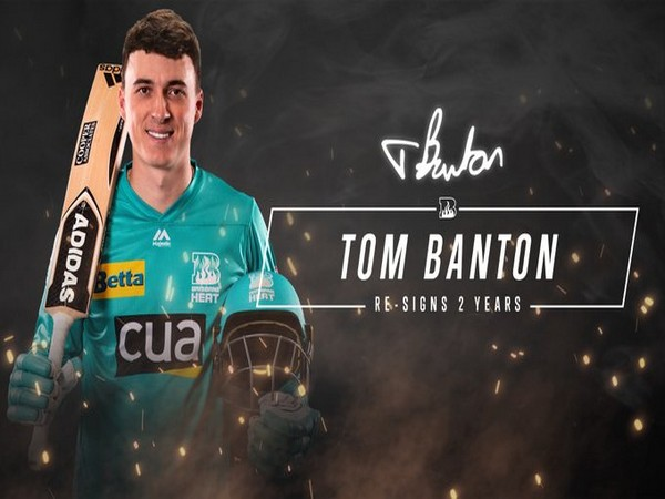 England's Tom Banton signs with Brisbane Heat for two years (Photo/ Brisbane Heat Twitter)