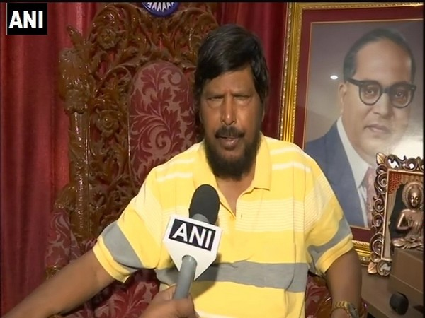 RPI leader Ramdas Athawale. Photo/ANI