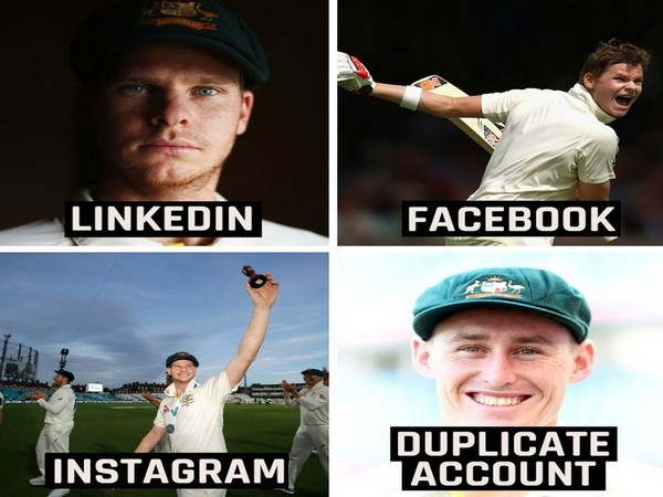 Social Challenge involving Steve Smith and Marnus Labuschagne (Photo/ ICC Twitter)