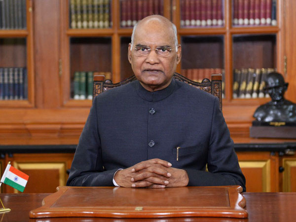 President Ram Nath Kovind addressing the nation on the eve of Republic Day on Saturday. (Photo source: President of India Twitter)
