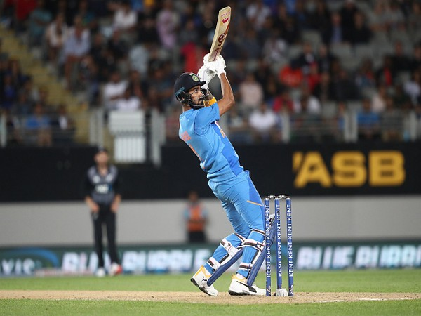 Wicket-keeper batsman KL Rahul in action during second T20I against New Zealand (Photo/ BCCI Twitter)