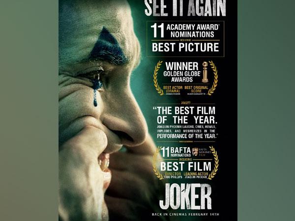 Poster of film 'Joker' (Image Source: Twitter)