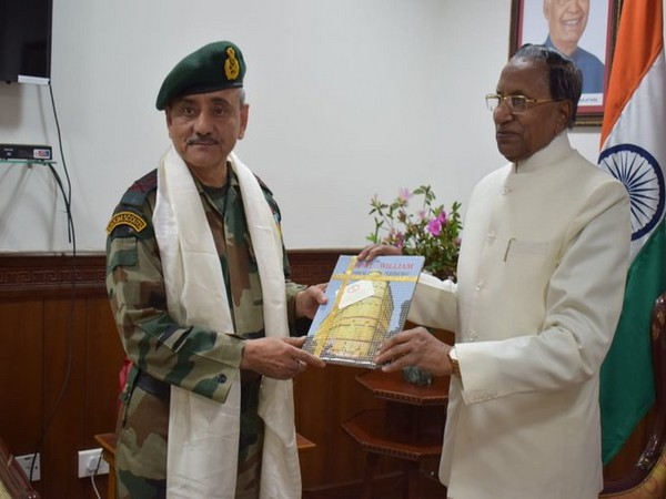 Lieutenant General Anil Chauhan, Eastern Army Commander met Governor of Sikkim Ganga Prasad in Gangtok on Tuesday.