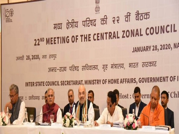 Visual from 22nd meeting of Central Zonal Council in Chhattisgarh.