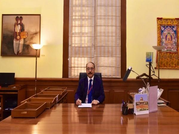 Harsh Vardhan Shringla took charge as the Foreign Secretary of India on Wednesday. Photo/ANI