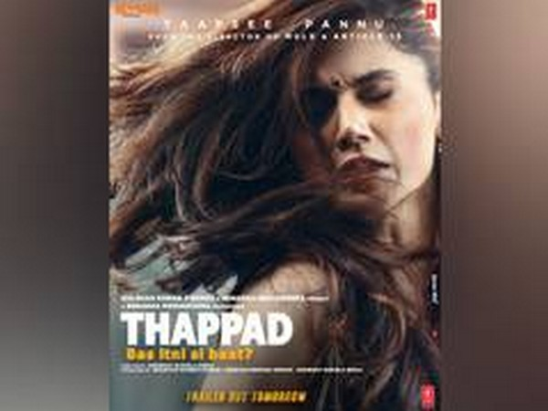 Poster of the film 'Thappad' (Photo/Twitter)