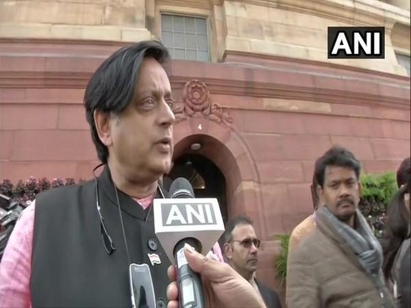 Congress MP Shashi Tharoor. Photo/ANI