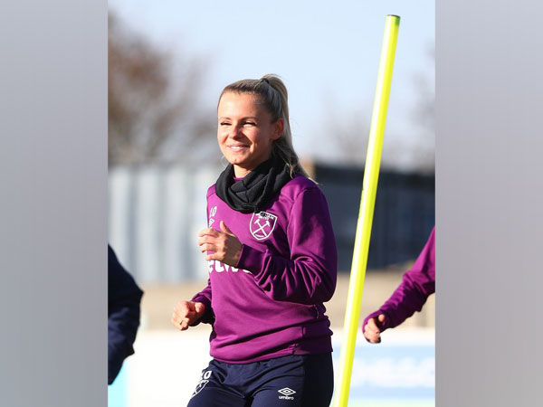 Midfielder Julia Simic. (Photo/ West Ham United Women Twitter)