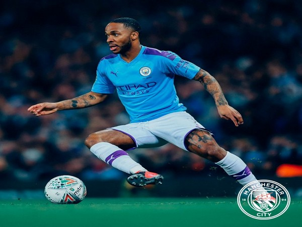 Manchester City midfielder Raheem Sterling (Photo/ Manchester City Twitter)