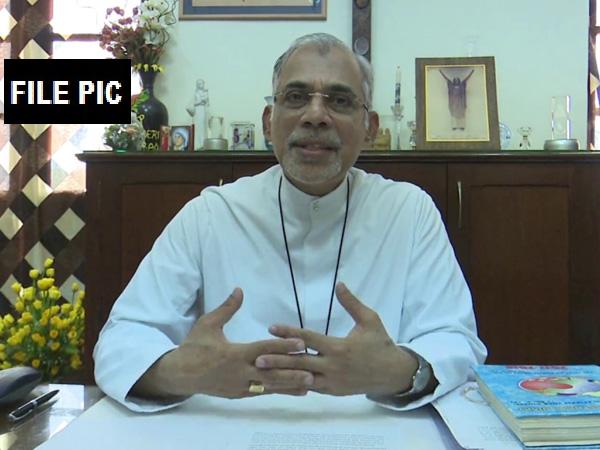 Archbishop of Goa Daman and Diu Filipe Neri Ferrao.