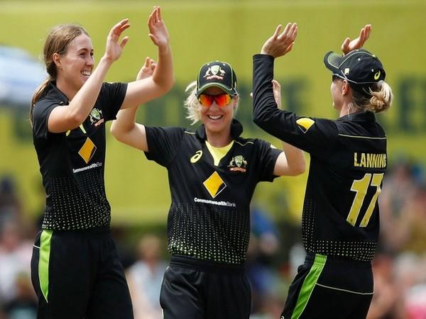 Australia women's cricket team in action against England (Photo/ ICC Twitter)