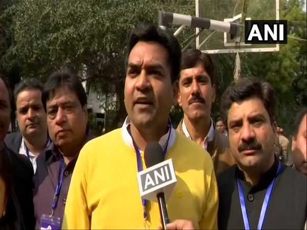 BJP candidate from Model Town Kapil Mishra speaking to ANI on Tuesday.