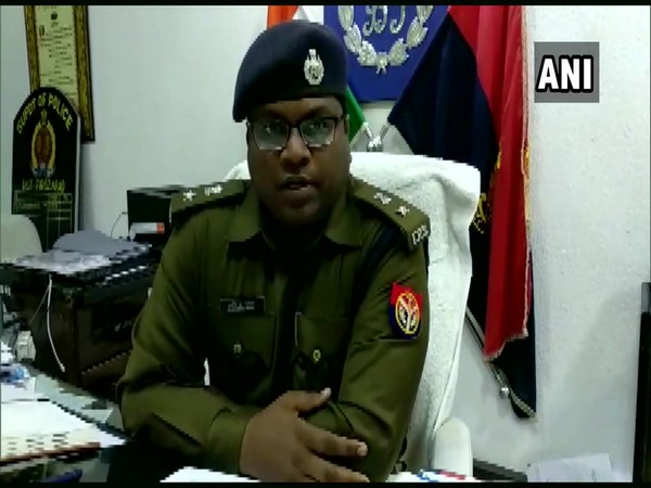 Sachindra Patel, Senior Superintendent of Police Firozabad