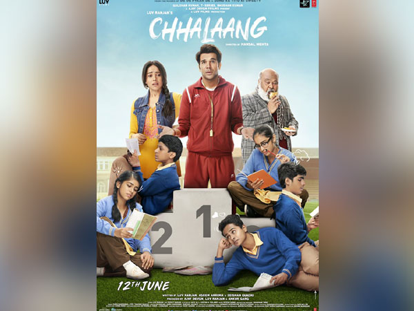 Poster of film 'Chhalaang' (Image Source: twitter)