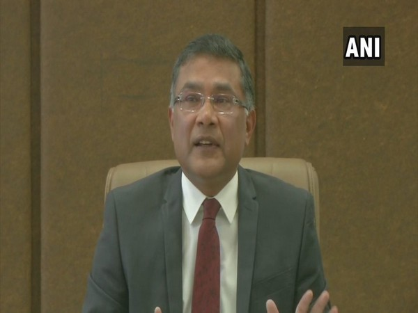 Jammu and Kashmir Chief Electoral Officer (CEO) Shailendra Kumar speaking to media persons in Jammu on Thursday.