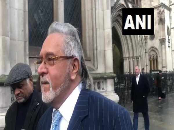 Fugitive liquor baron Vijay Mallya in London.