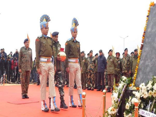Paying tribute to the CRPF jawans