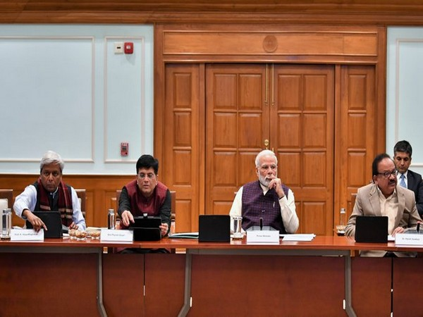 Prime Minister Narendra Modi chairs CSIR meeting in New Delhi on Saturday.