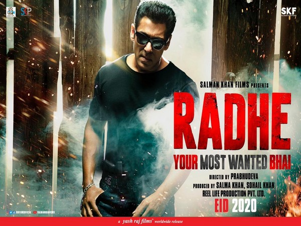 Poster of  Radhe: Your Most Wanted Bhai (Image courtesy: Instagram)