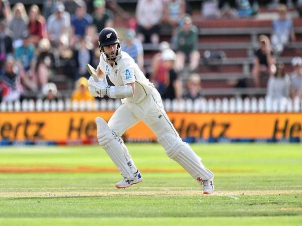 Kiwi skipper Kane Williamson in action against India (Photo/ ICC Twitter)