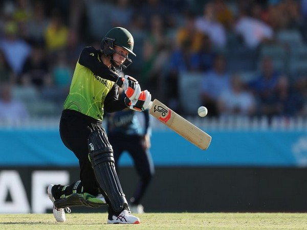 Australia's Rachael Haynes in action against Sri Lanka (Photo/ cricket.com.au Twitter)