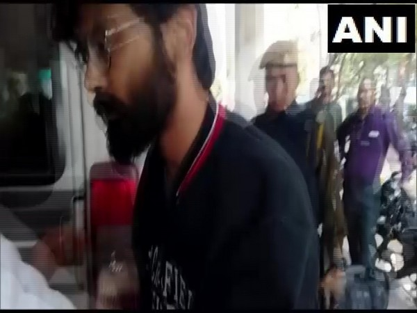 A Guwahati Court on Monday extended the Police custody of Sharjeel Imam for another four days. Photo/ANI