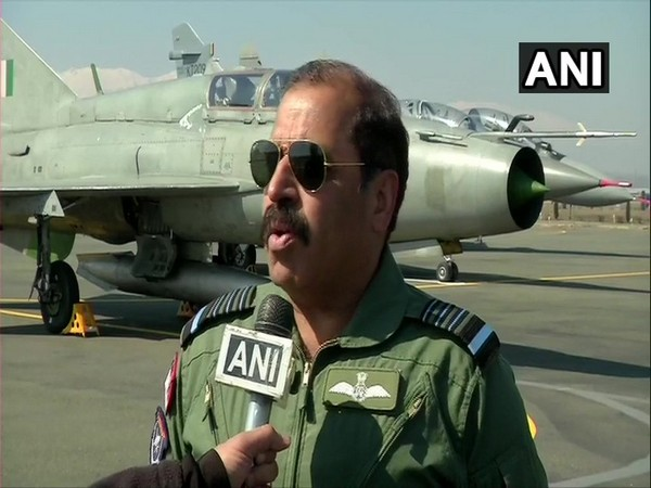 IAF Chief RKS Bhadauria speaking to ANI on Wednesday.