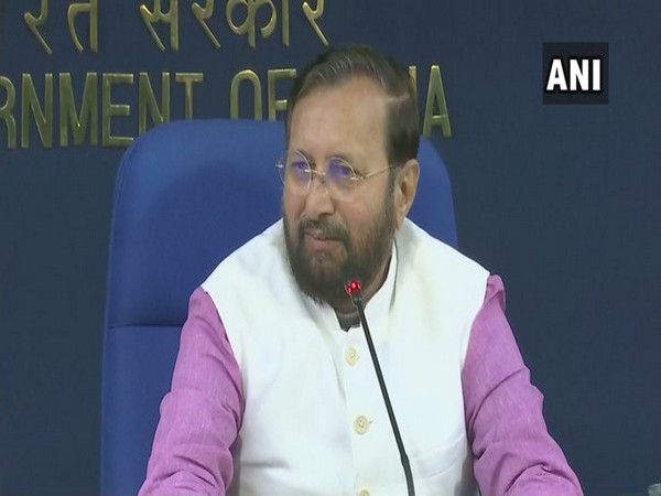 Information and Broadcasting Minister Prakash Javadekar briefing media on Wednesday.