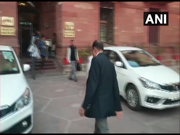 National Security Advisor (NSA) Ajit Doval on Wednesday visited the Ministry of Home Affairs to meet Home Minister Amit Shah. Photo/ANI