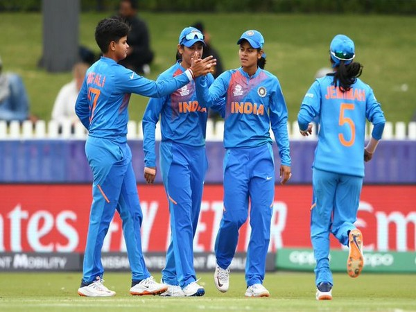 Indian team in action against New Zealand (Photo/ T20 World Cup Twitter)
