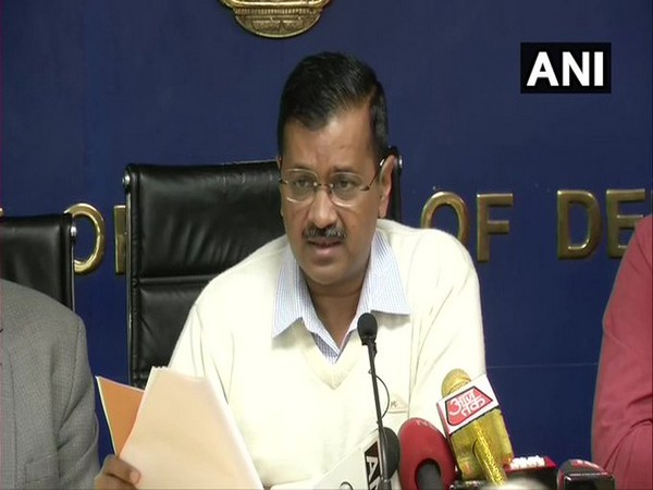 Delhi Chief Minister Arvind Kejriwal addressing a press conference in New Delhi on Thursday.