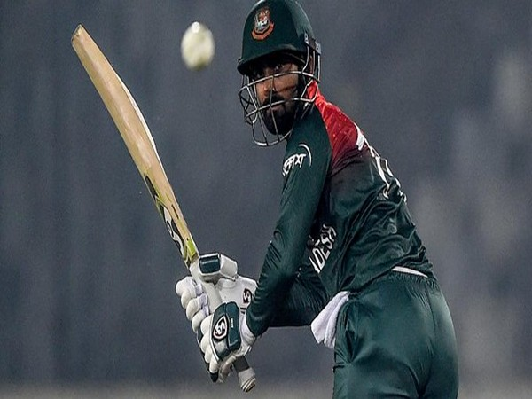 Bangladesh's Liton Das in action against Zimbabwe (Photo/ ICC Twitter)