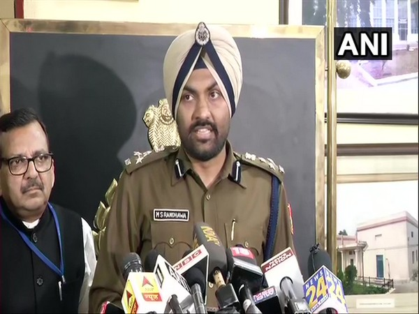 Delhi Police PRO MS Randhawa addresses media in New Delhi on Thursday [Photo/ANI]