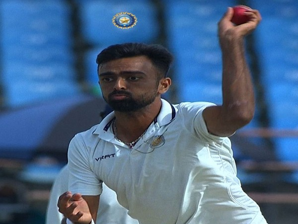 Saurashtra skipper Jaydev Unadkat (Photo/ BCCI Domestic Twitter)