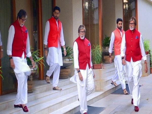 Actors Amitabh Bachchan and Abhishek Bachchan (Image Source: Twitter)