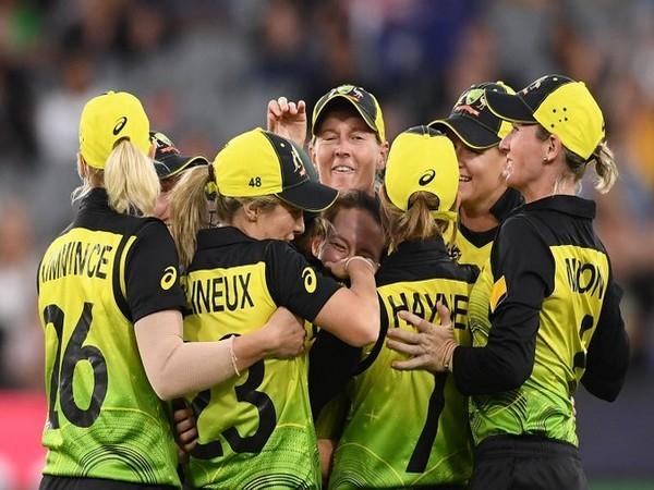 Australia women's cricket team in action against India (Photo/ cricket.com.au Twitter)