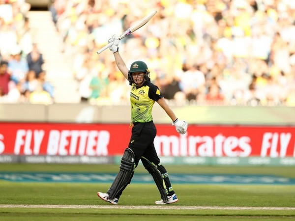 Australia's opening batswoman Alyssa Healy in action against India (Photo/ T20 World Cup Twitter)